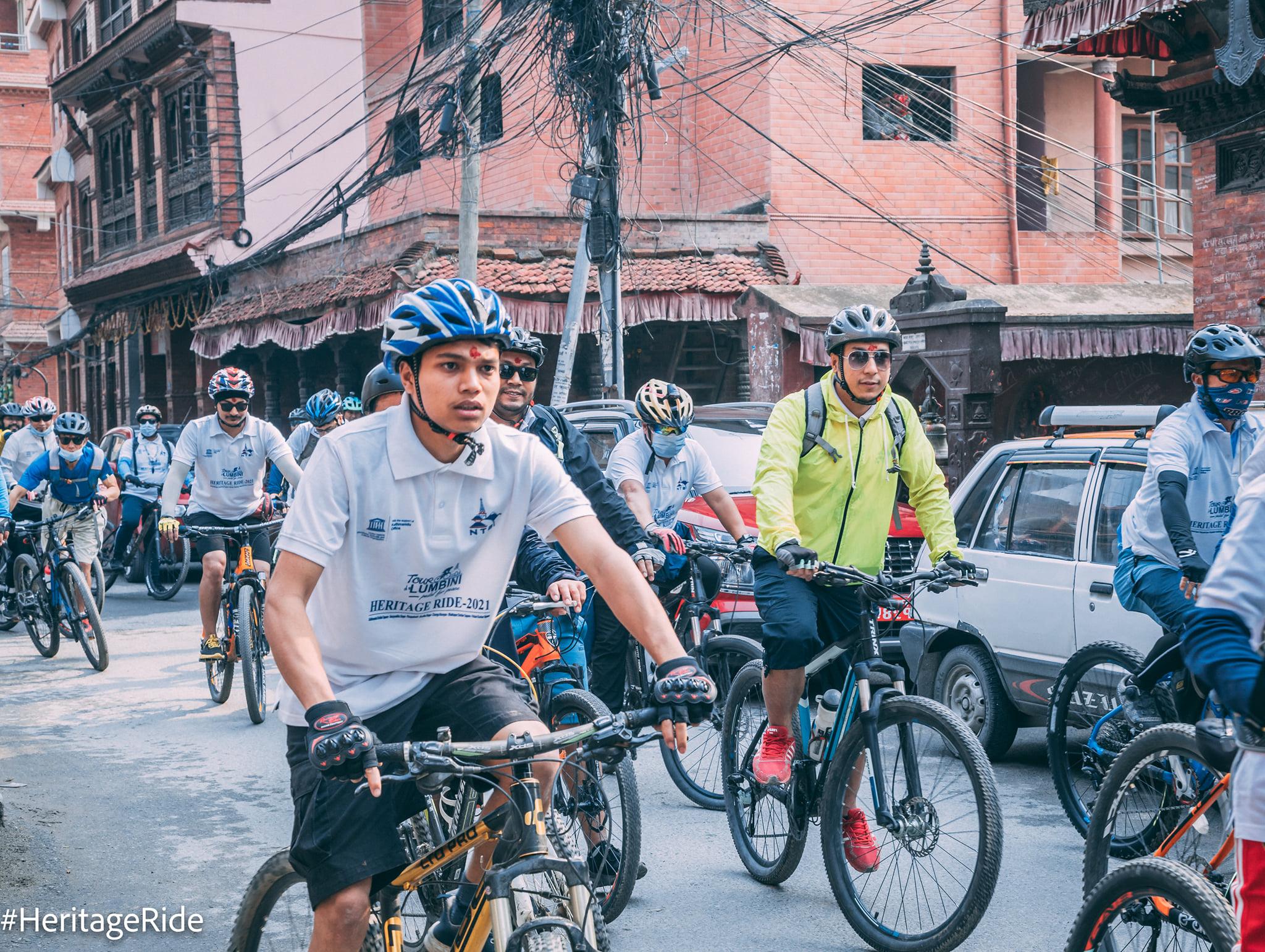 सम्पदा साइकल यात्रा