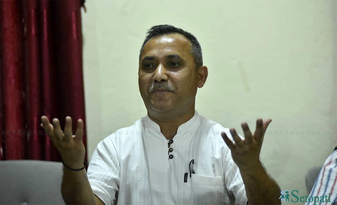 विश्वप्रकाश शर्मा। फाइल तस्बीर।