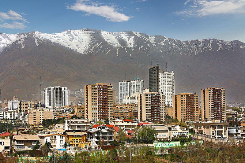 इरानको राजधानी तेहरान।