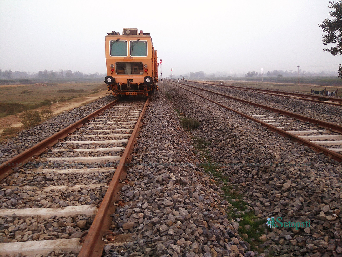 जनकपुर-जयनगरमा एसीसहितका रेल कुद्ने