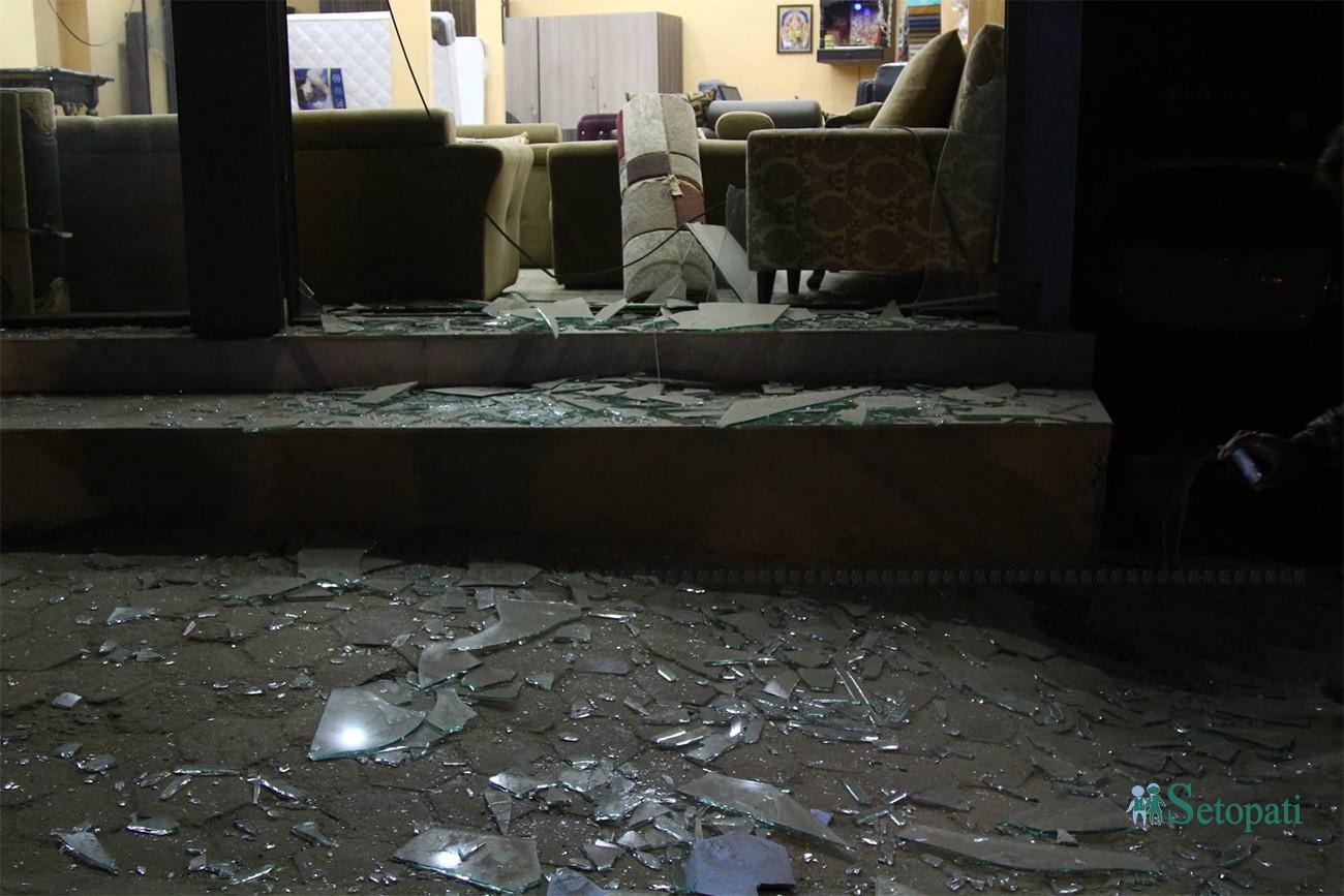 तस्बिरमा हेर्नुहोस् नख्खु बम बिस्फोट