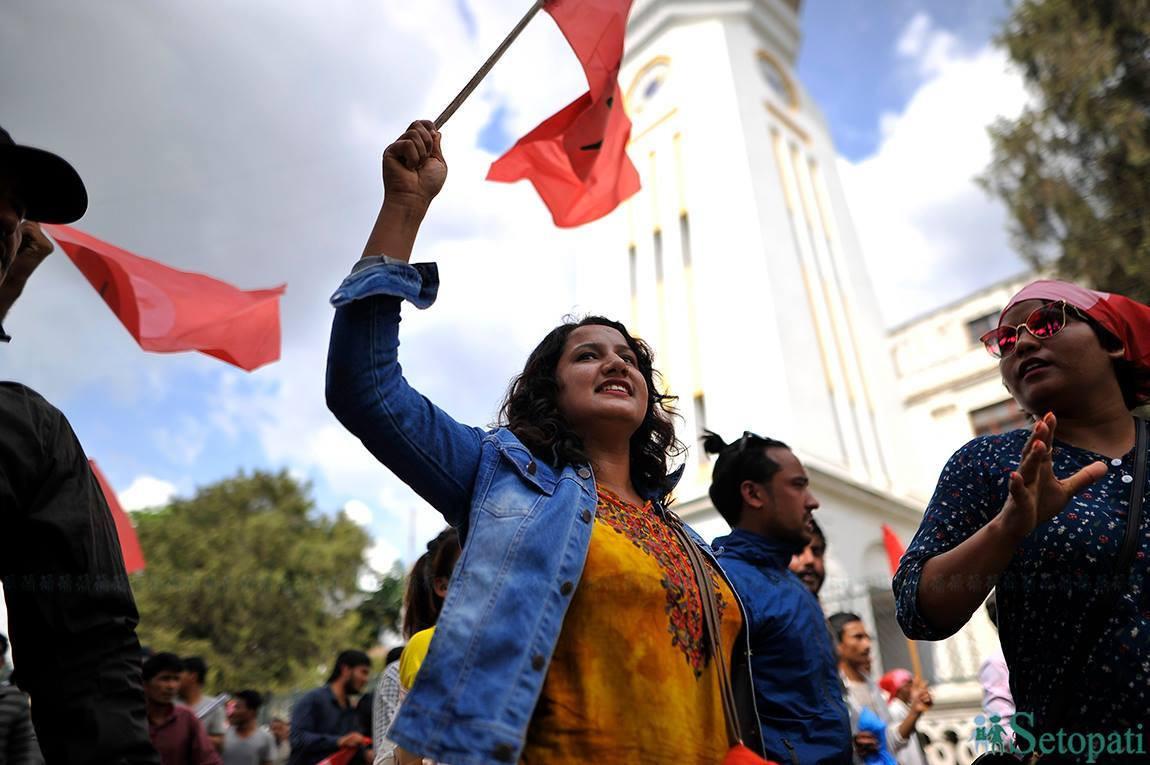 'महिलाको प्रश्नमा उदांगियो हाम्रो लोकतान्त्रिक, समानताको आन्दोलन'