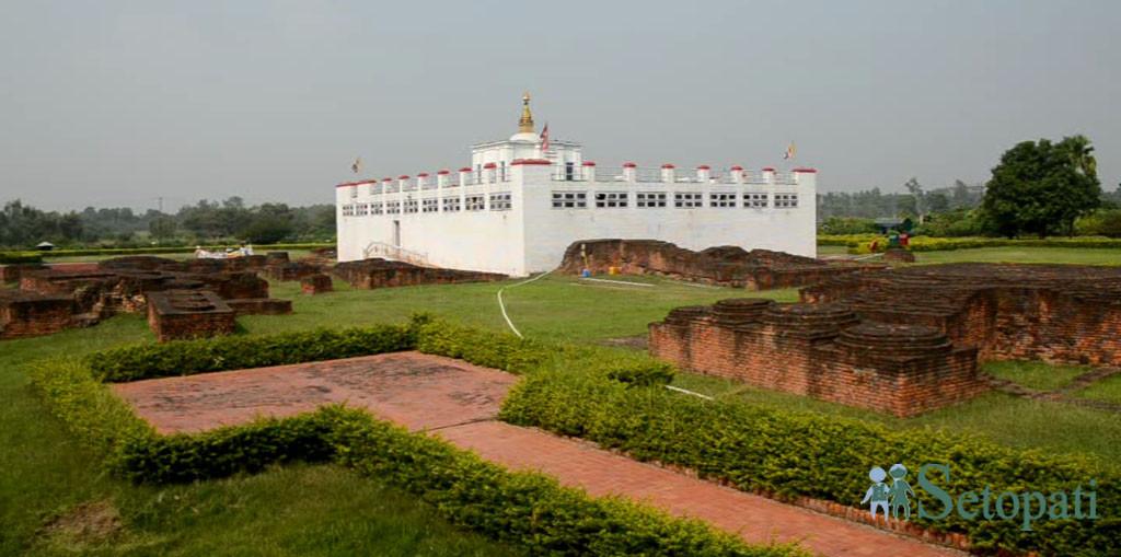 लुम्बिनी क्षेत्र। तस्बिर: सेतोपाटी