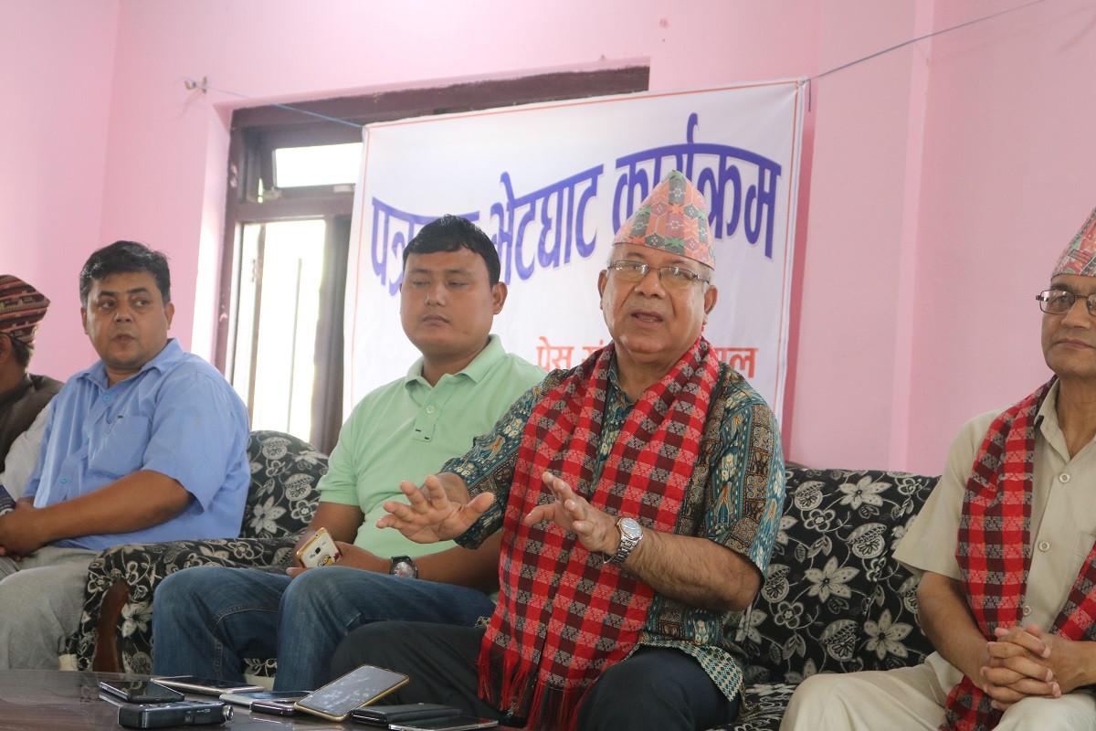मिडिया काउन्सिल विधेयकबारे पार्टीमा छलफल नै गरिएन : माधव नेपाल