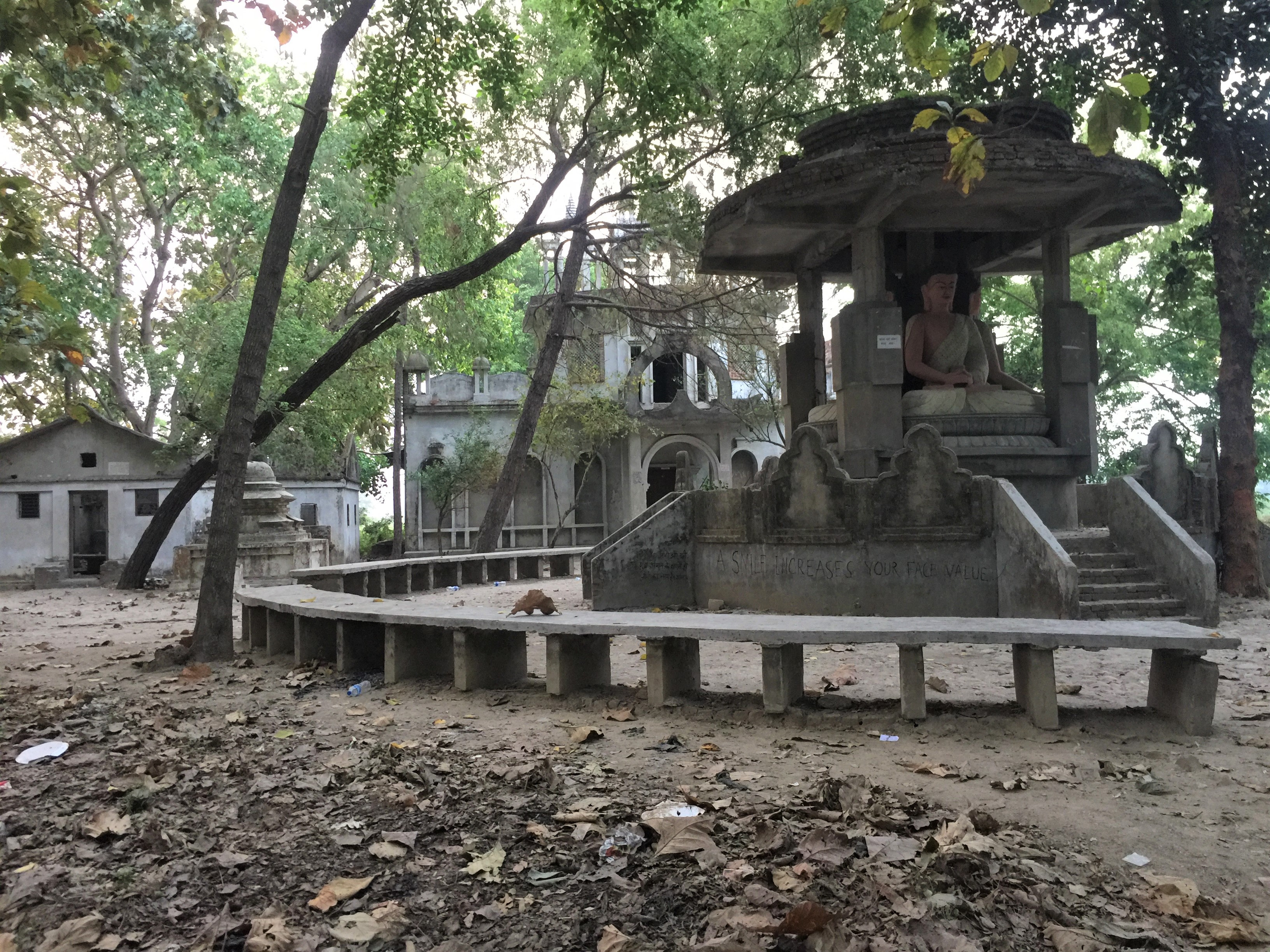 अपहरण काण्डपछि खण्डहर बनेको वीरगन्जको बौद्धपार्क