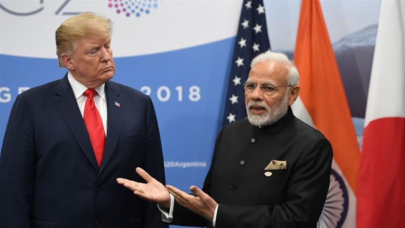 अमेरिका र भारतको आफ्नै व्यापार युद्ध