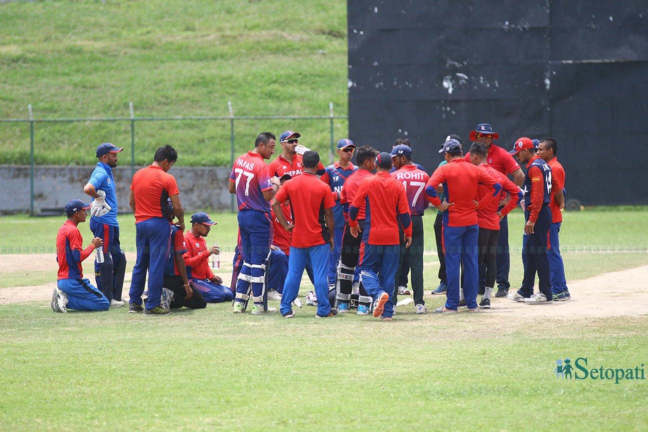 राष्ट्रिय क्रिकेट टोलीको प्रशिक्षण शैली परिवर्तन, बिहान ७ बजे नै खेलाडी टियू मैदानमा
