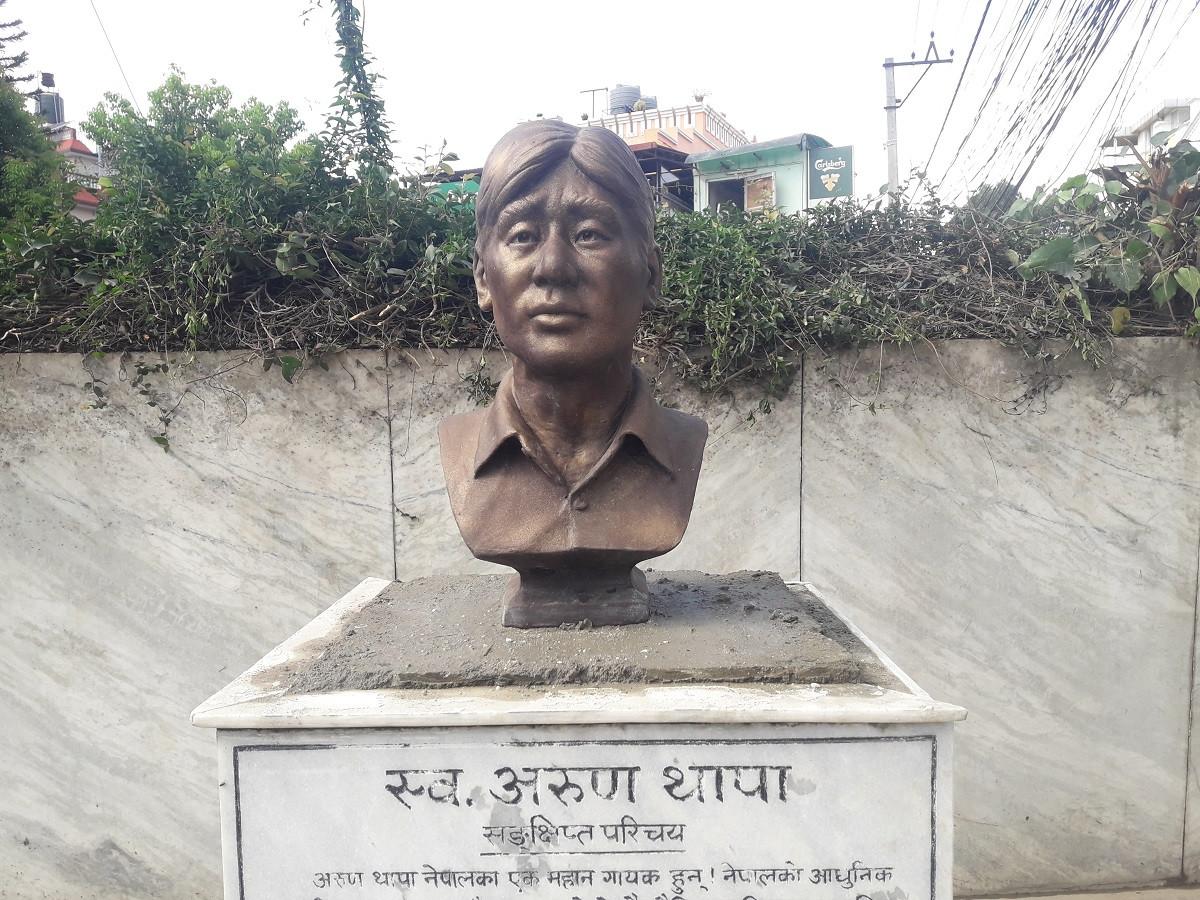 अरुण थापाको आँगन जहाँ उनी 'बाँचिरहेका' छन्