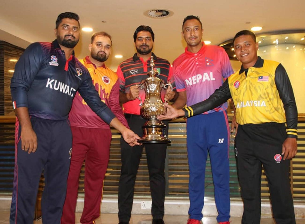 टी-२० छनोटमा नेपालविरुद्ध भिड्न लागेका ४ टिमका कप्तान के भन्छन्?