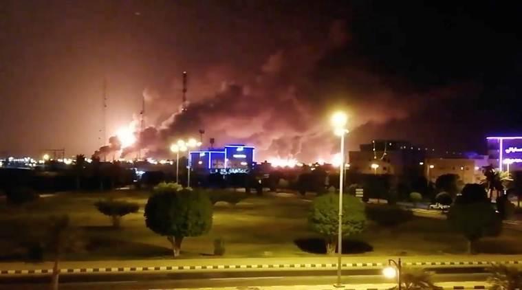 साउदीका दुई तेल प्लान्टमा ड्रोन आक्रमण, सोमबारदेखि तेलको भाउ बढ्न सक्ने