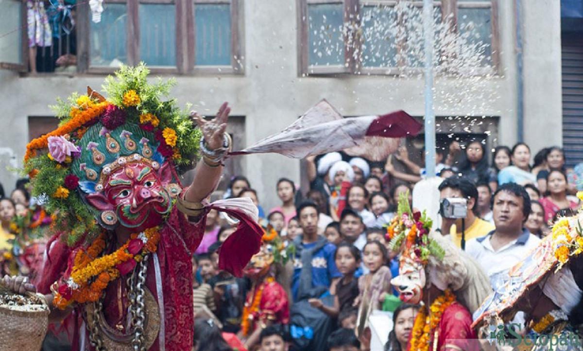 जात्रामा देखिने काठमाडौं सभ्यता