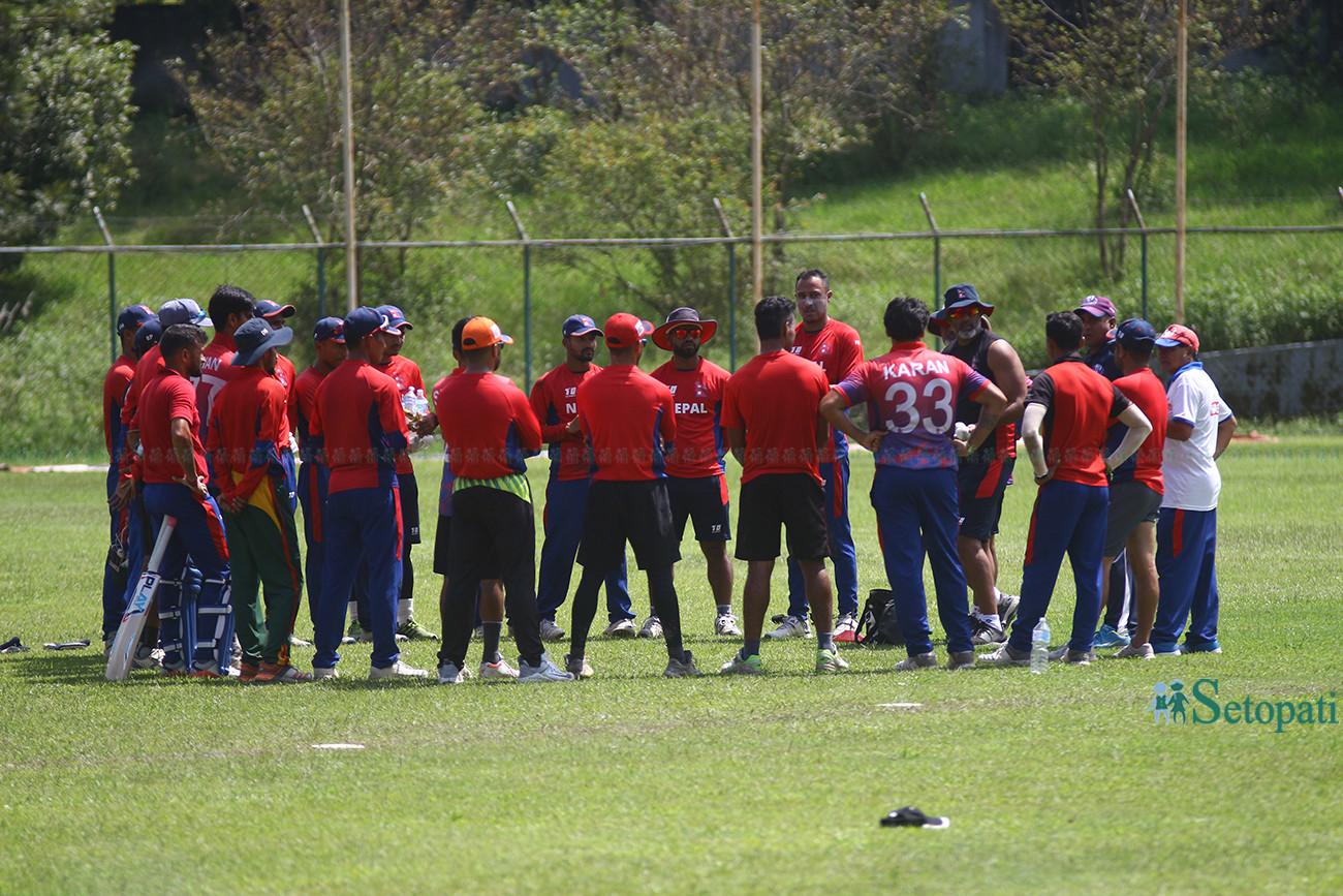 सिंगापुर र ओमान भ्रमण : उत्कृष्ट क्रिकेट टिम बनाउने अवसर