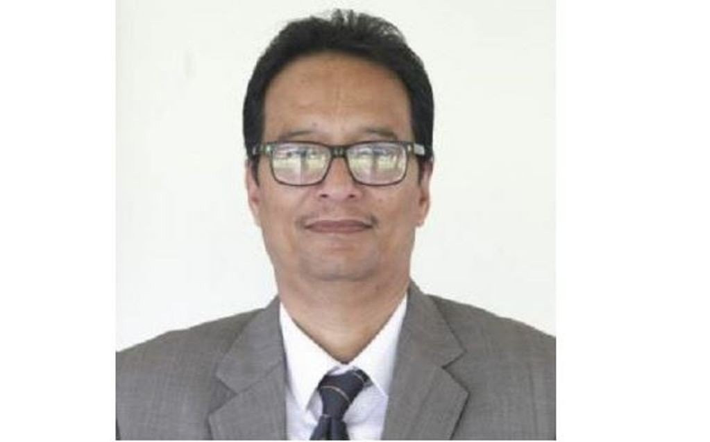 बैंक अफ काठमाण्डूका तत्कालीन प्रमुख कार्यकारी अधिकृत अजय श्रेष्ठ।