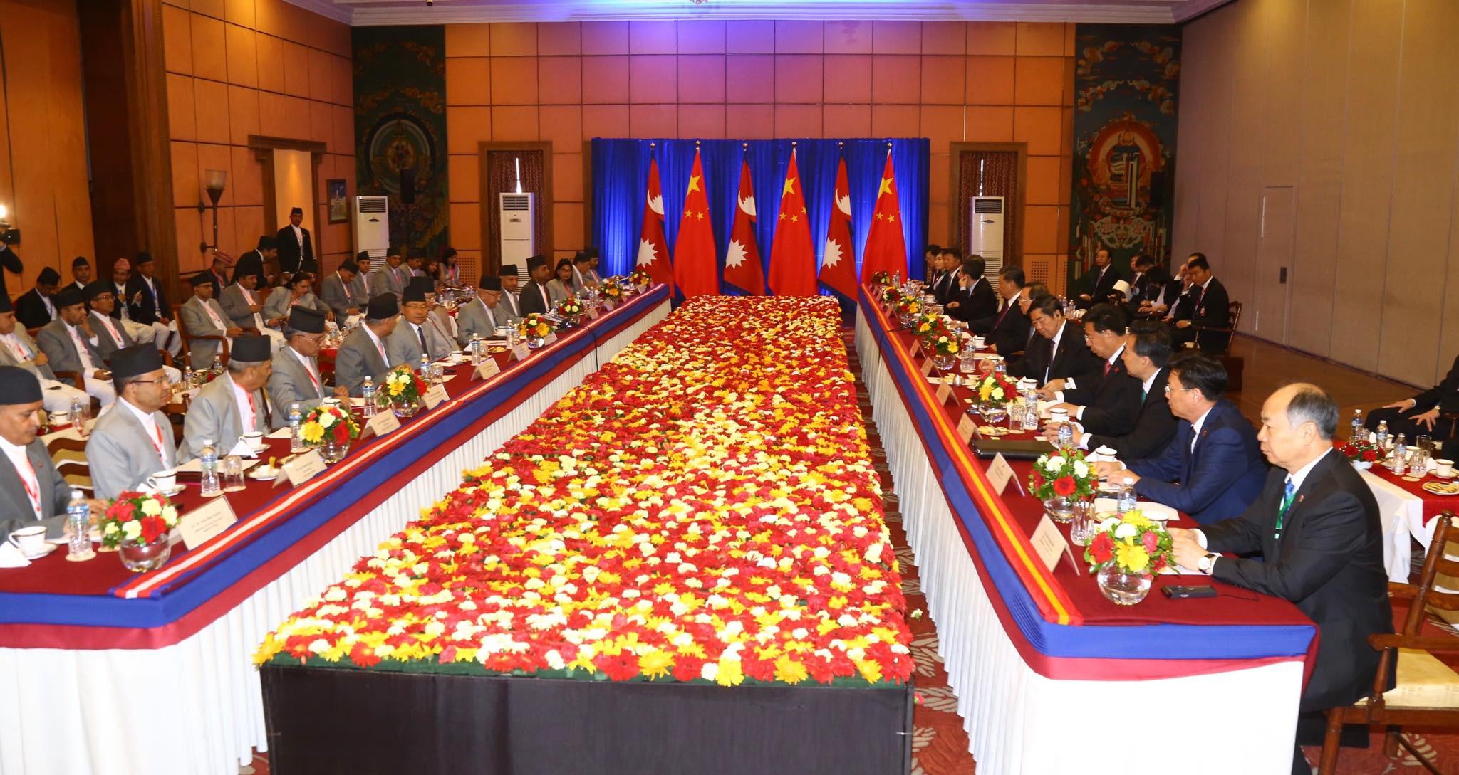 नेपाल-चीनले सुरूङ बनाउने संयुक्त कम्पनी स्थापना गर्ने
