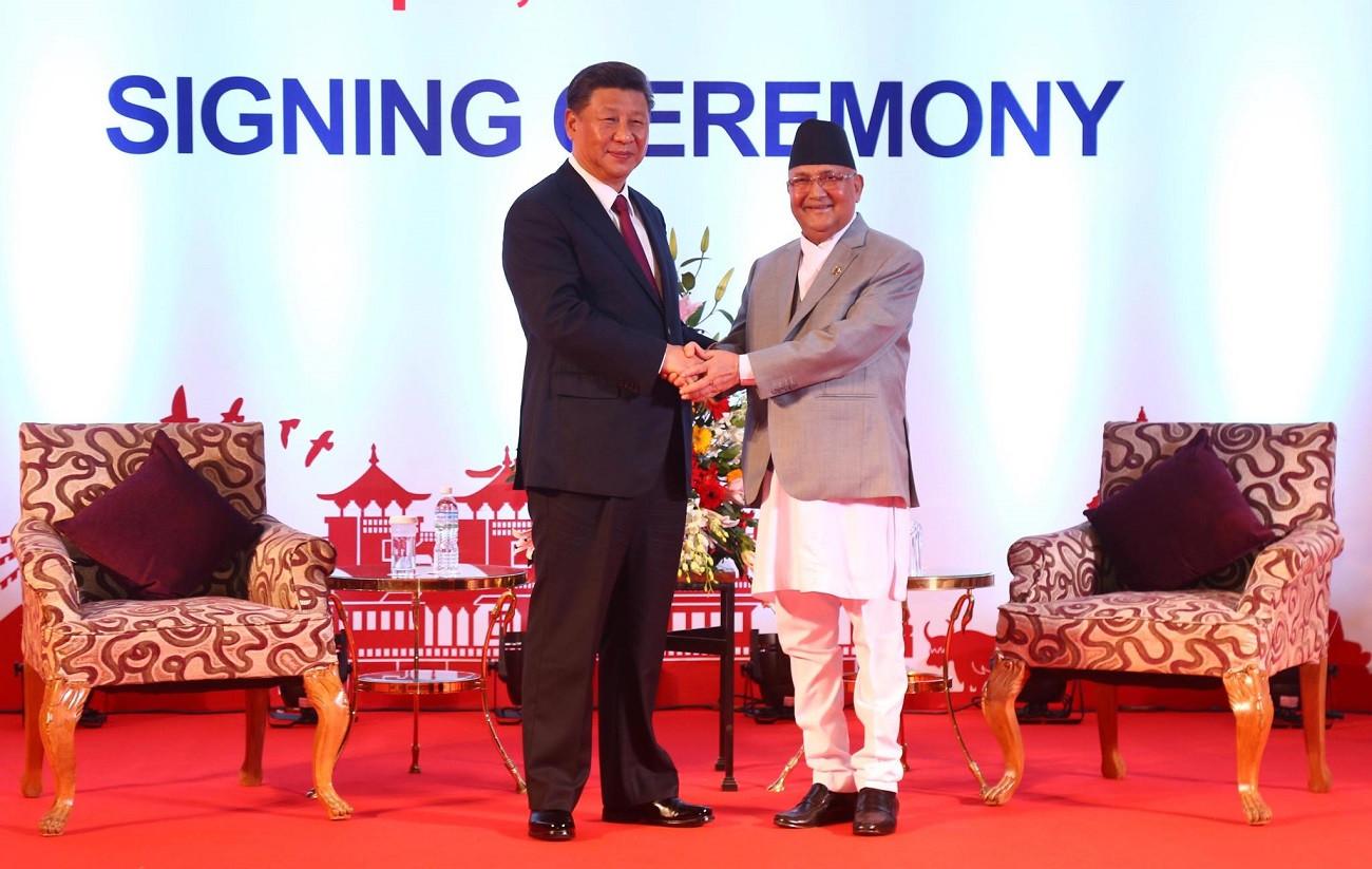 नेपाल र चीनले जारी गरे १४ बुँदे संयुक्त वक्तव्य