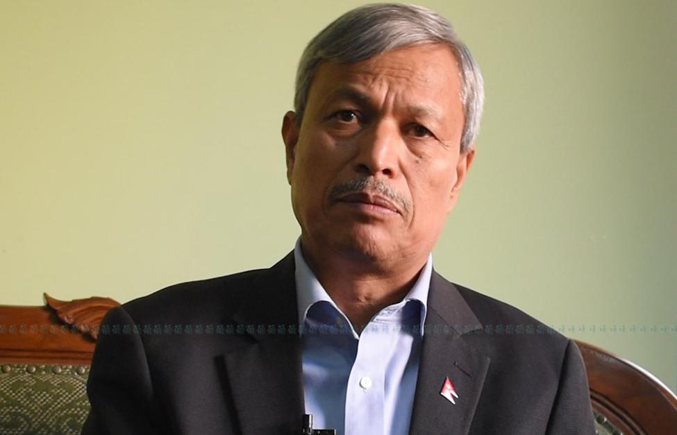 भीम रावलको प्रश्न - पार्टीभित्रको पक्ष-विपक्ष राजनीतिमा राष्ट्रपतिलाई किन तानियो?