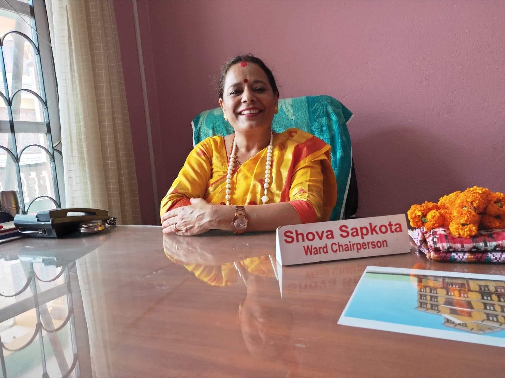 काठमाडौं महानगरकी एक मात्र महिला वडाध्यक्ष भन्छिन्ः कहिलेकाहीँ सेलेब्रेटीजस्तो महशुस हुन्छ