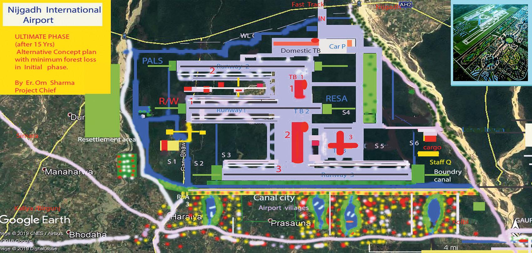 वातावरण अभियन्ताको माग:निजगढमा विमानस्थल बनाउनै हुँदैन