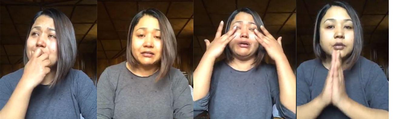 गायिका आस्था राउतलाई हिरासतमा राख्ने म्याद लिन सिडिओ कार्यालय लैजाँदै