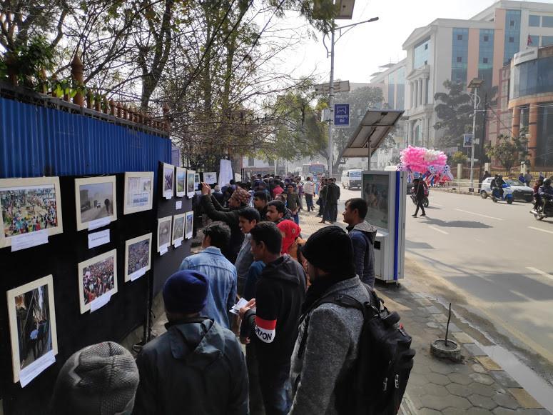 अकुपाई टुँडिखेल: ३२ तस्बिरमा काठमाडौं हिजो र आज