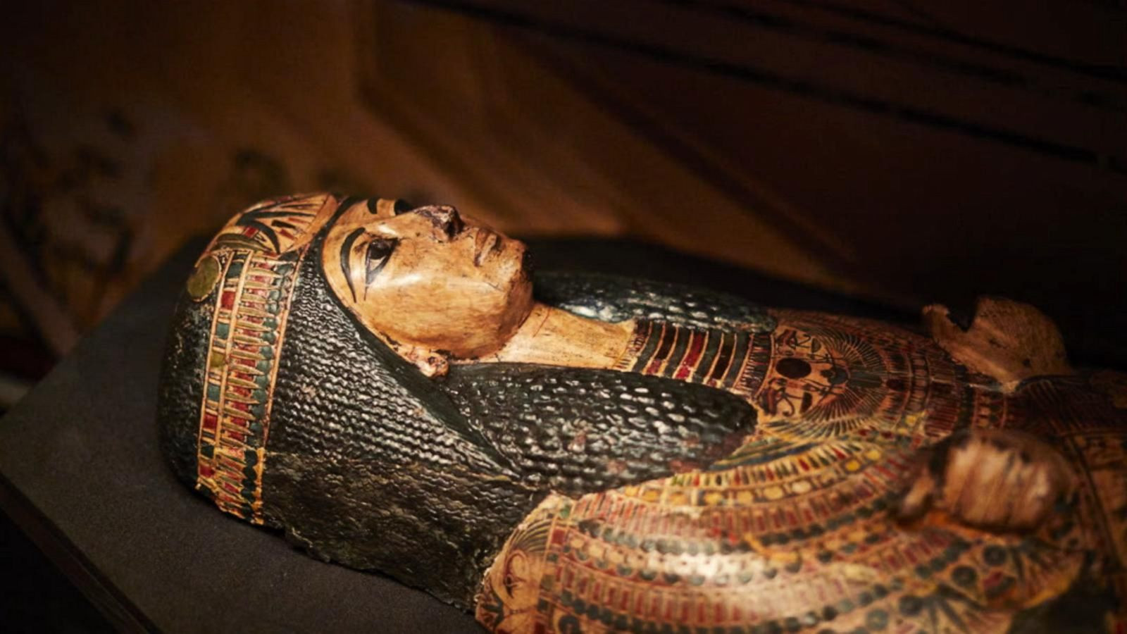 तीन हजार वर्ष पुरानो 'ममी'ले निकाल्यो आवाज