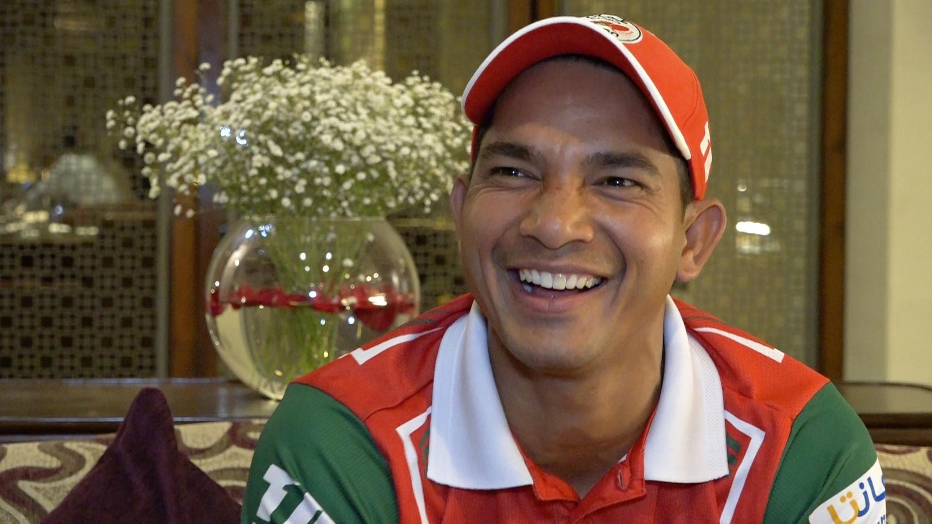 ओमानको राष्ट्रिय क्रिकेट टोलीमा रहेका नेपाली मूलका विकेटकिपर/ब्याट्सम्यान सुरज कुमार। तस्बिर : सेतोपाटी