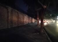 सिंहदरबारको बाहिरी पर्खाल घेरा। तस्बिरः समिक्षा अधिकारी/सेतोपाटी