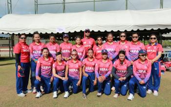 आइसीसी महिला टी–२० विश्वकप छनोटमा नेपालको विजयी सुरूवात, मलेसिया ३४ रनले पराजित