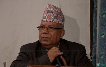 ओलीसँगको भनाभन श्रीमान–श्रीमतीको झगडाजस्तै हो: माधव नेपाल