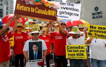 ६ वर्षअघि थुपारेको फोहोर क्यानाडाले फिर्ता नलगेपछि फिलिपिन्सले आफ्नो राजदूतलाई फिर्ता बोलायो