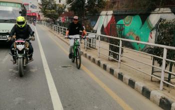 माइतीघर-तीनकुनेमा कालोपत्रे गरी साइकल मात्र चल्ने लेन बनाइने