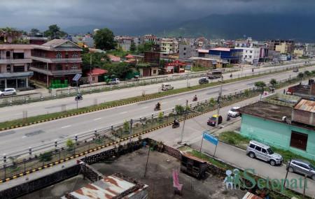 रेलमार्ग लैजाने गरी डीपीआर तयार भइरहेको बुटवल कालिकानगरको बस्ती।