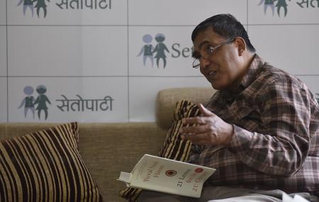 हरि शर्मा। तस्बिरः नारायण महर्जन/सेतोपाटी