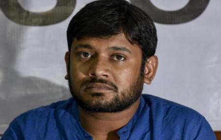 कन्हैया कुमार।