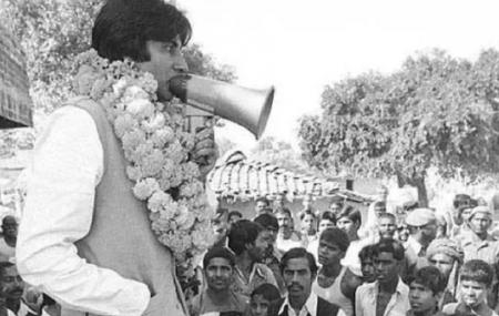 सन् १९८४ को लोकसभा निर्वाचनमा अमिताभ बच्चन।