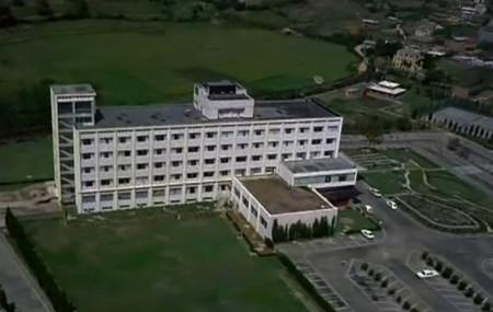 सन् १९७० तिर आकाशबाट देखिएको सोल्टी होटल र वरिपरिको तत्कालीन ताहाचल। यो तस्बिर त्यतिबेला काठमाडौंमा छायांकन गरिएको देव आनन्दको फिल्म 'हरे राम हरे कृष्ण' बाट लिइएको हो।
