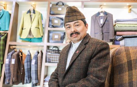 दीपबहादुर शाही। तस्बिरः रविन्द्र शाही/सेतोपाटी