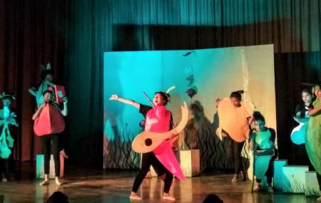 'करेसा कन्सर्ट' नाटकको दृष्य। तस्बिरः जुना श्रेष्ठ/सेतोपाटी