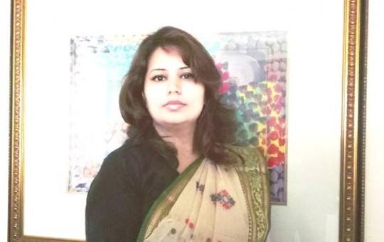 शर्मिला पराजुली, ओमनका लागि नेपाली राजदूत। तस्बिरः सेतोपाटी