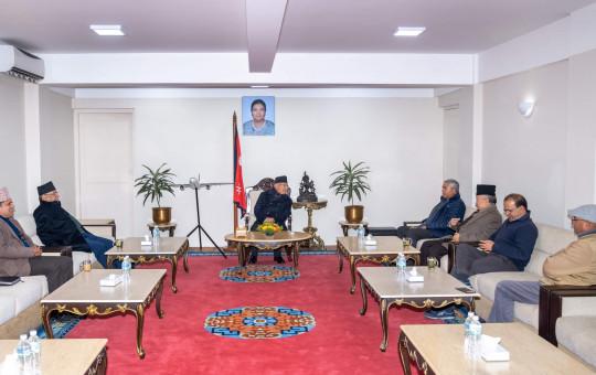 तस्वीर: प्रधानमन्त्रीको सचिवालय