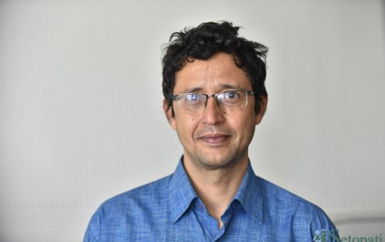 डा. रामेश कोइराला। तस्बिरः सेतोपाटी