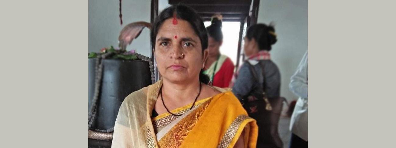 नवनियुक्त राज्यमन्त्री बोधमाया: 'जनयुद्ध'अघि नै मारिएका थिए उनका बा :: Setopati
