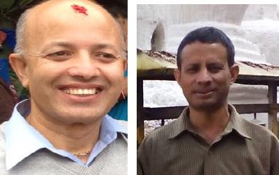 राजेन्द्र पराजुली र नारायण प्र. रिजाल